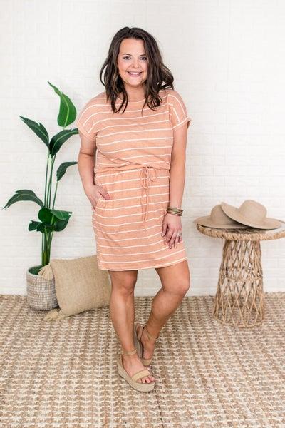 Keep It Chill Striped Dress