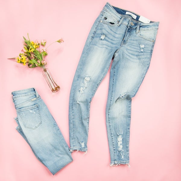 Spring Distressed Denim