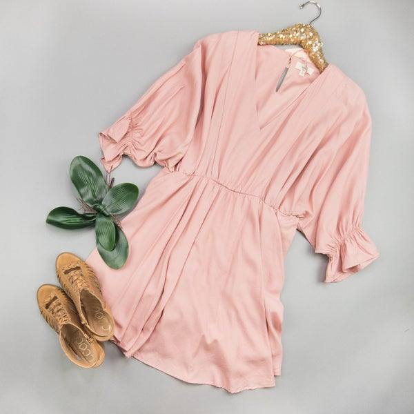 Simply Blush Dress *all sales final*