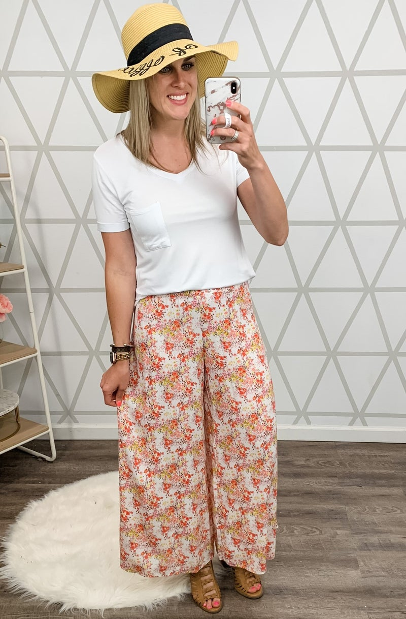 Summer Coral Pants *all sales final*