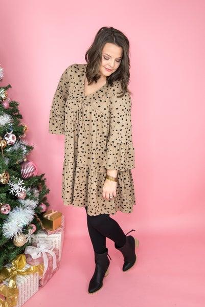 Spotty Dot Babydoll Dress *all sales final*