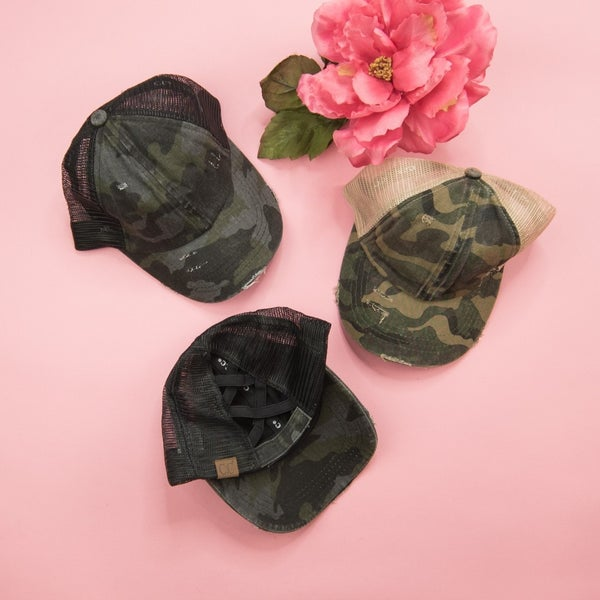 Cross Camo Hat