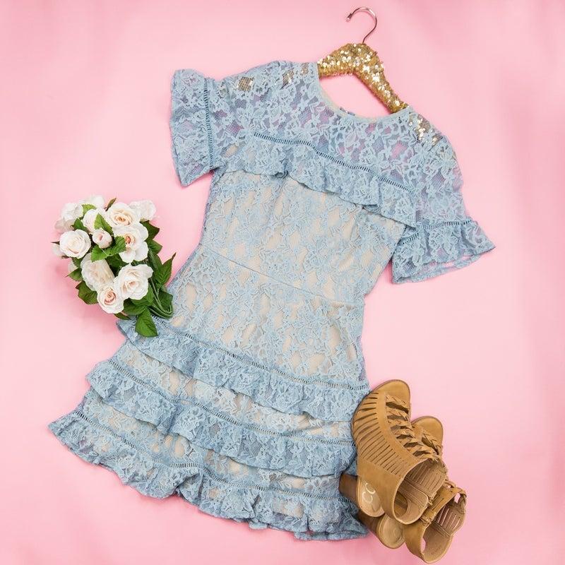 Dreamtime Ruffle Dress