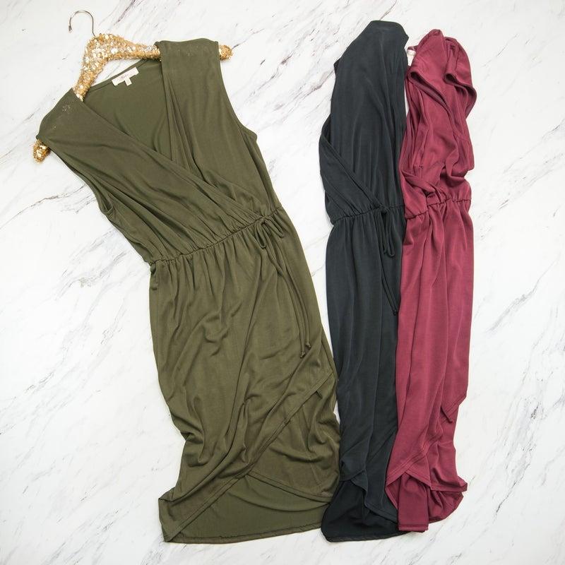 SATURDAY STEALS // Flaunt Wrap Tie Dress *ALL SALES FINAL*