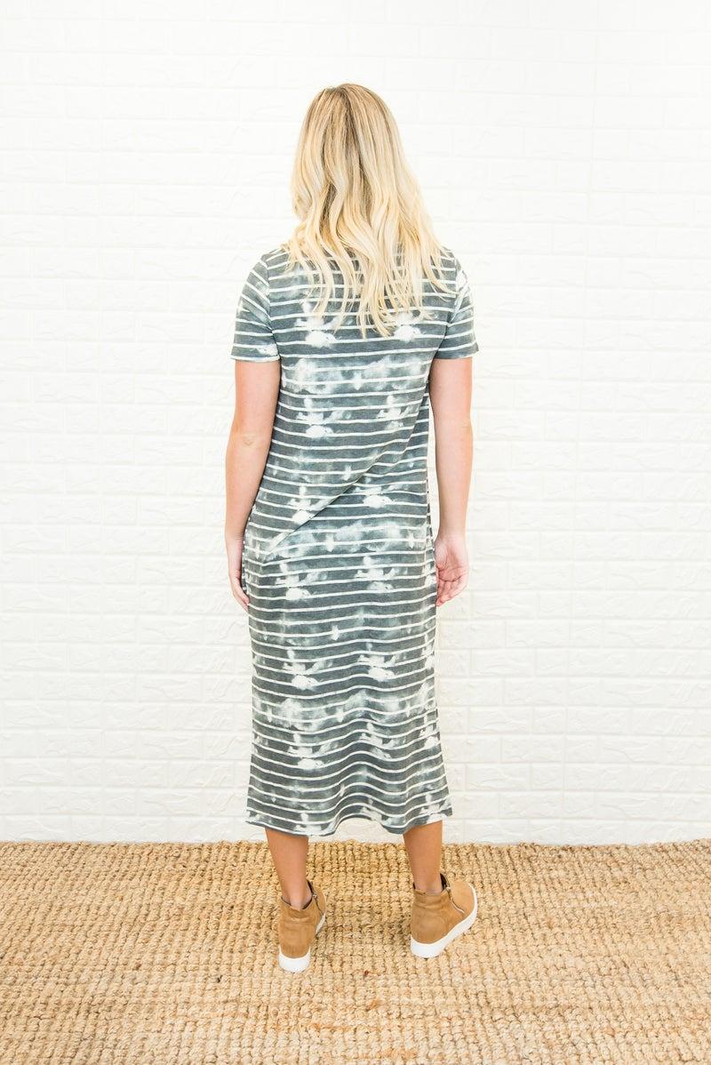 Neutral Dye Midi Dress (repost)