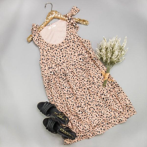 Fancy Leopard Dress *all sales final*