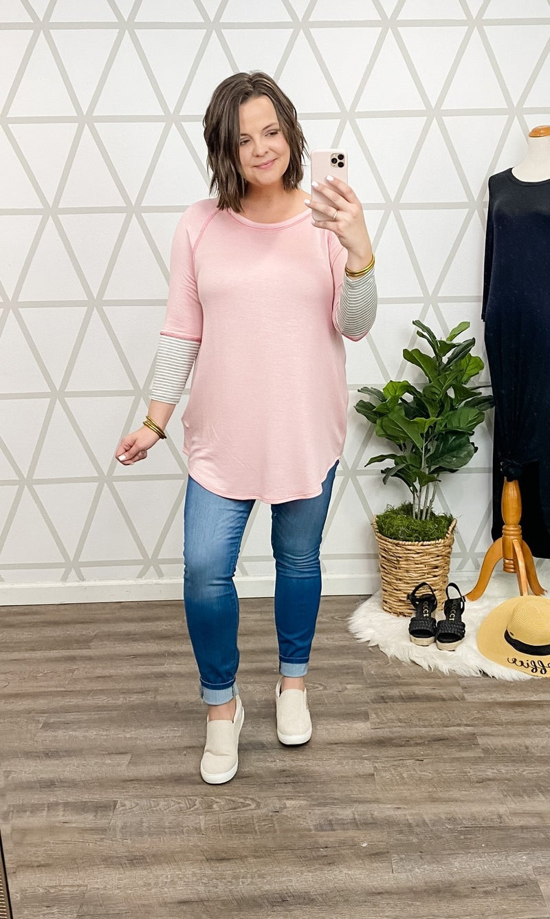 Cozy At Home Top *all sales final*