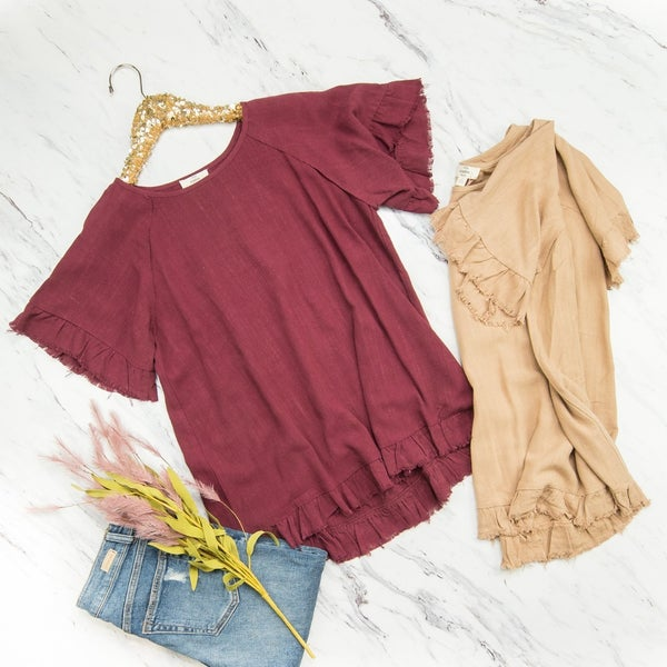 Fall Spirit Top *all sales final*