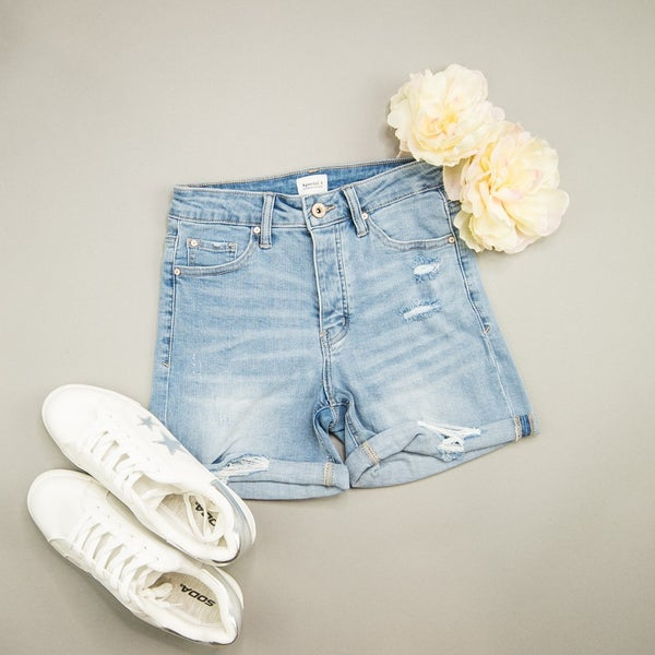 Special A Button Denim Shorts(REPOST)