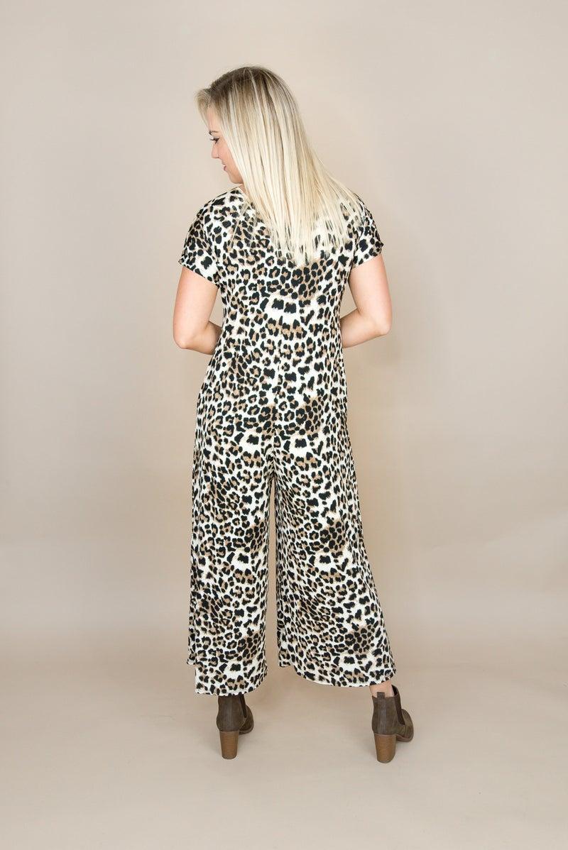 Bold Leopard Jumpsuit *all sales final*