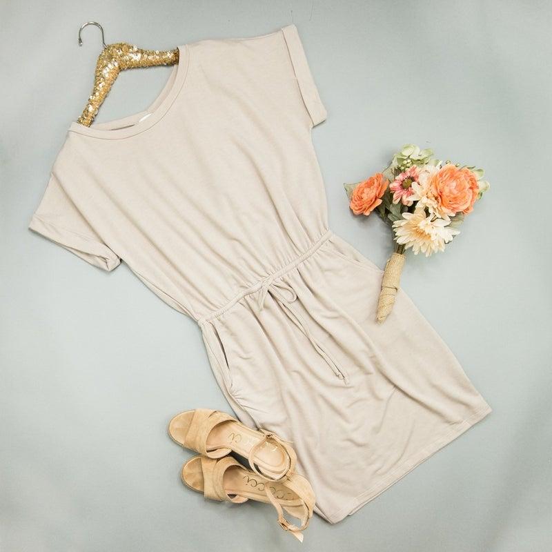 Cherish Mocha Dress
