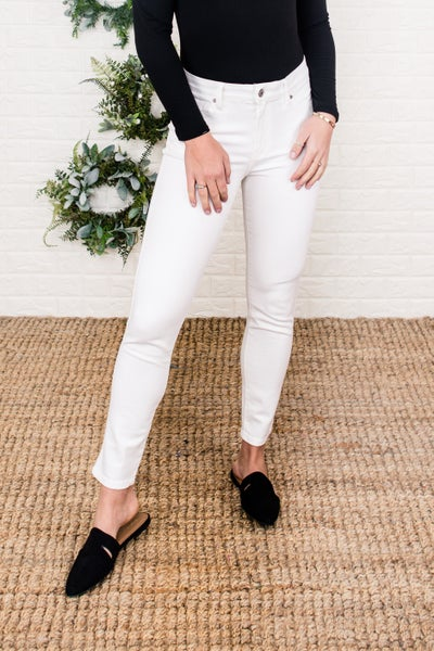 White KanCan Skinny Denim