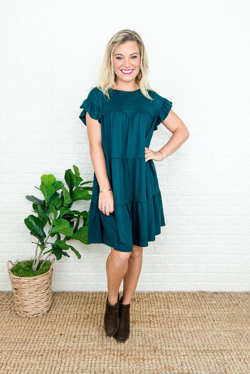 Buttersoft Tier Ruffle Dress