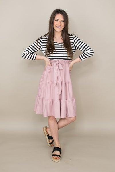 Stripe Me Pretty Dress *Final Sale*