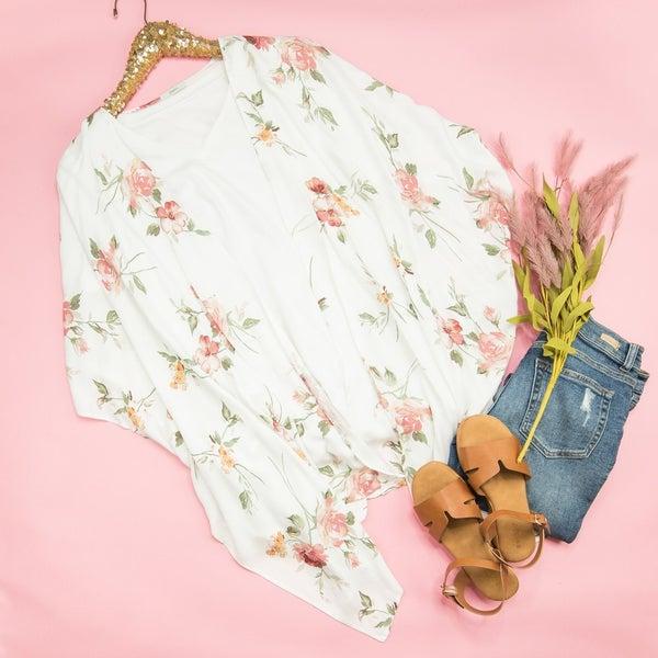 Summer Rose Kimono