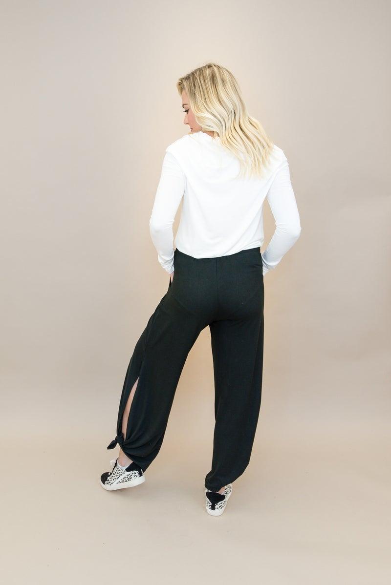 Wide Leg Casual Pant