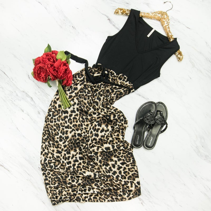 Black Leopard Maxi *all sales final*