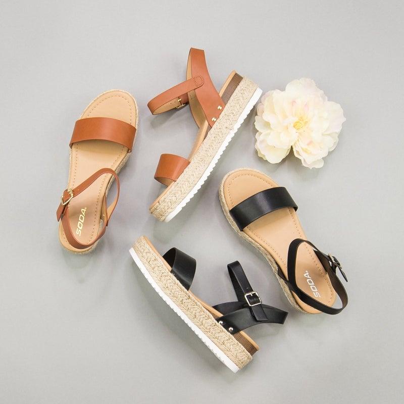 Spring Platform Sandal
