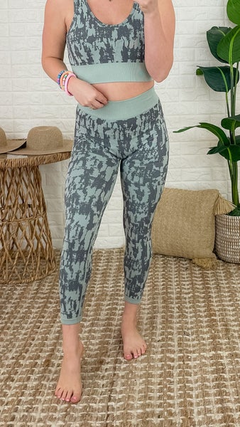 Waterfall Grey Leggings