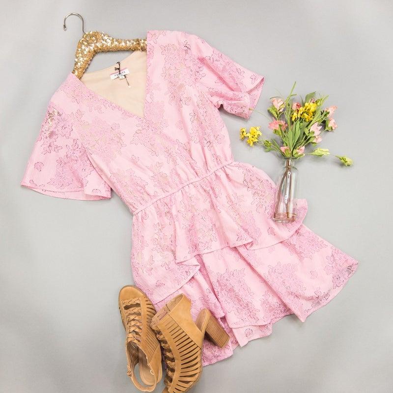 Ruffles & Blush Dress