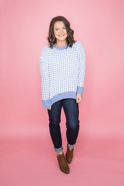 Warms My Heart Sweater *all sales final*