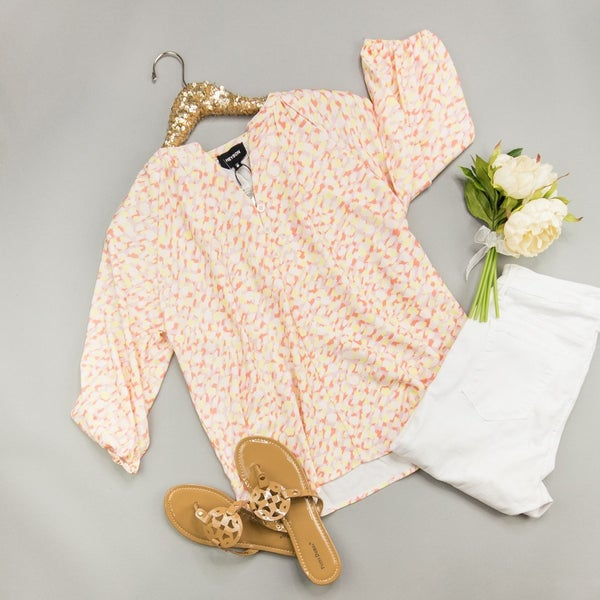 Brighten The Day Blouse *all sales final*