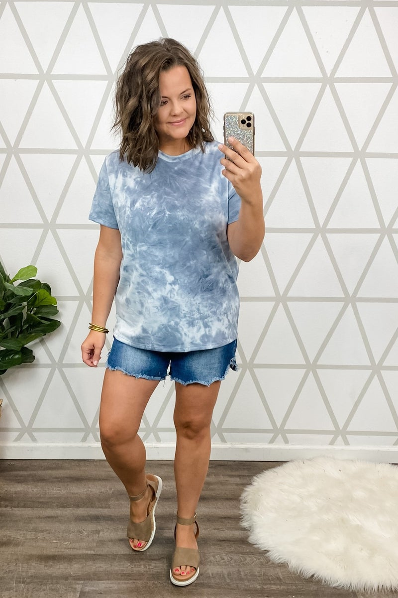 Muted Washout Tee *all sales final*