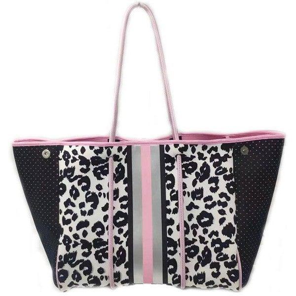 Leopard Neoprene Bag