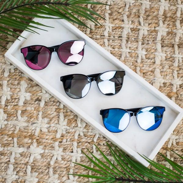 Pixie Mirror Cat Eye Sunglasses
