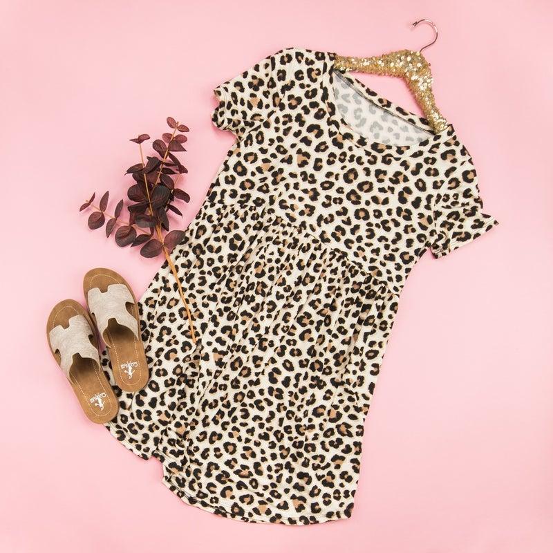 Buttersoft Leopard Dress
