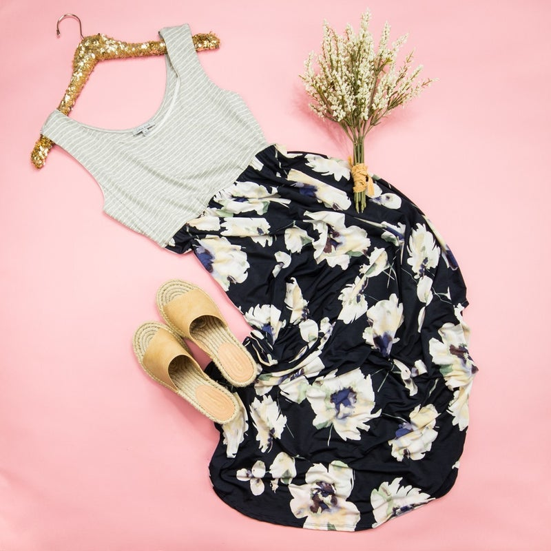 Trend Forward Floral Dress