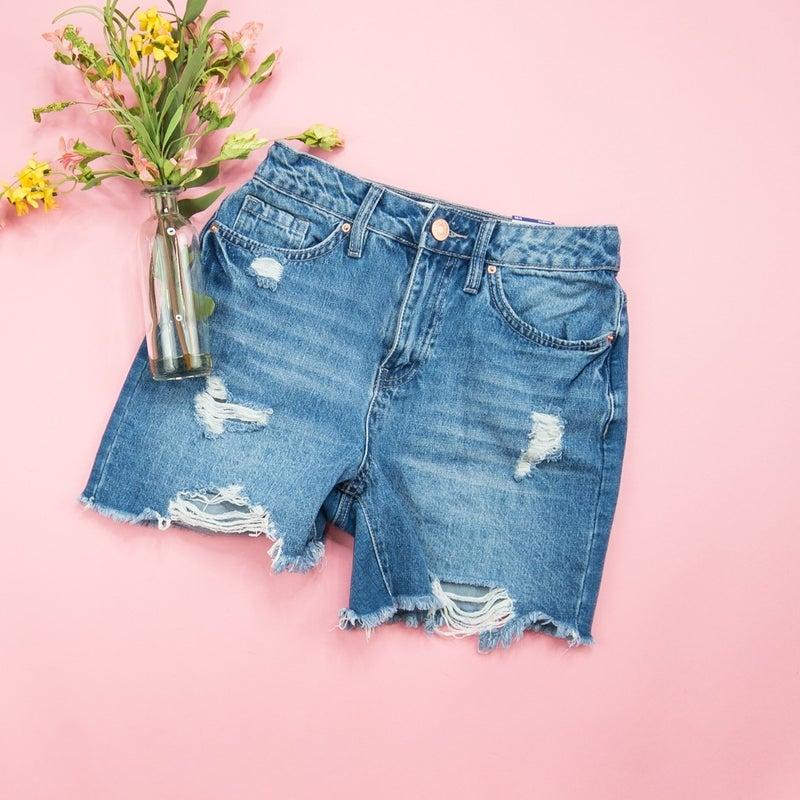 YMI High Rise Denim Shorts