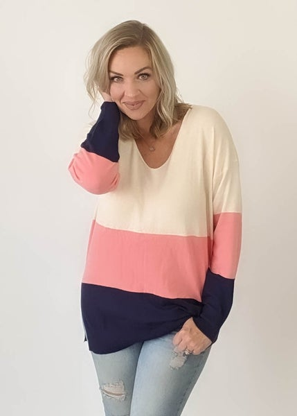 Addicted To Love Colorblock Sweater