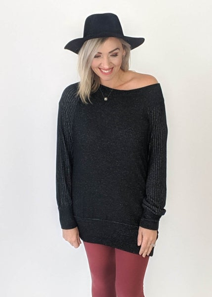 Dreamy Off Shoulder Sweater Dress