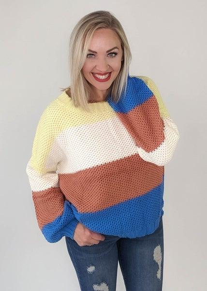 Sunflower Fields Sweater