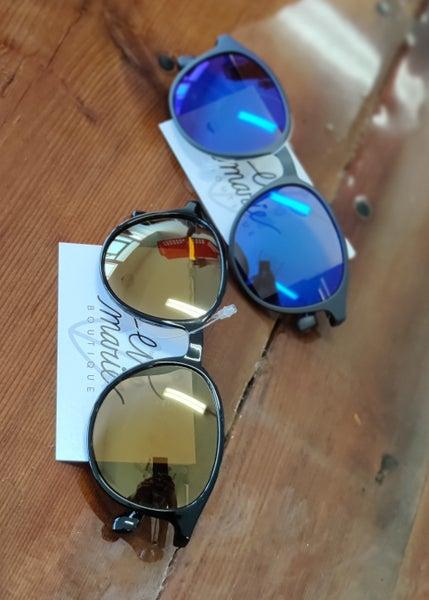 Round Hipster Sunglasses