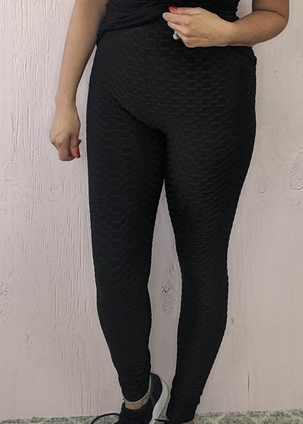 Black Scrunch Butt Lifting Leggings