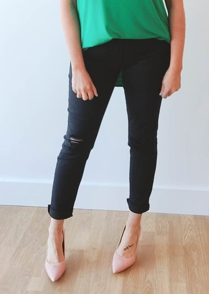 Lena Black Slim Fit Jeans