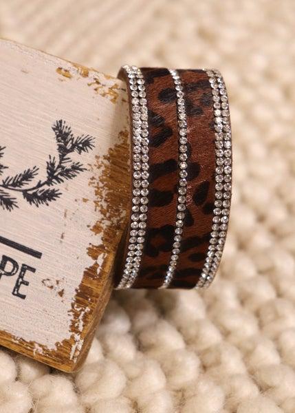 Twyla Leopard Stone Magnetic Bracelet *Final Sale*