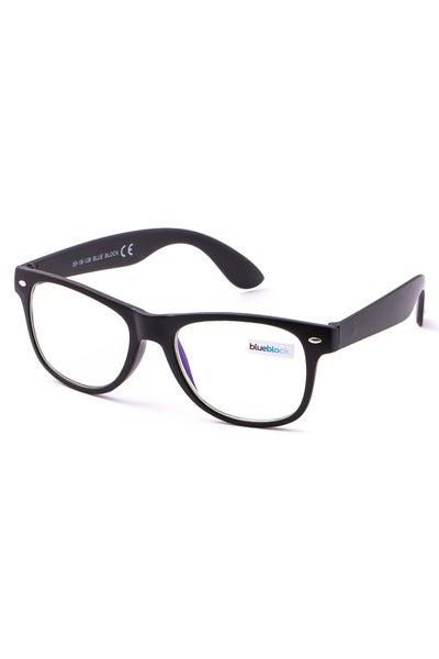 Adult Blue Light Glasses-Matte Black