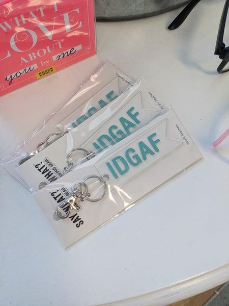 IDGAF Keychain