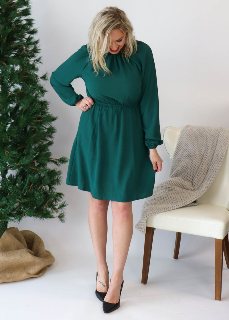 DOORBUSTER: Alexander Huntergreen Dress *Final Sale*