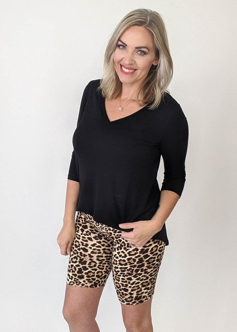 Lisa Turtle Biker Shorts