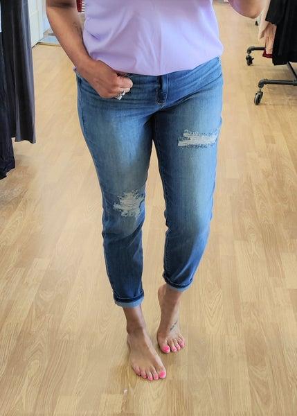 Lexi High Waist Slim Jeans