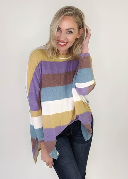 Maggie Colorblock Sweater