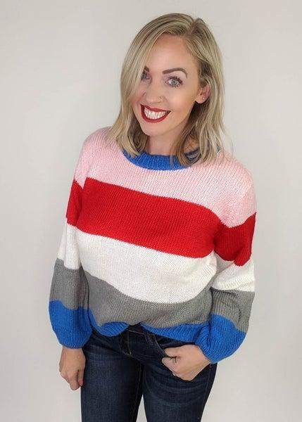 Betty Colorblock Sweater