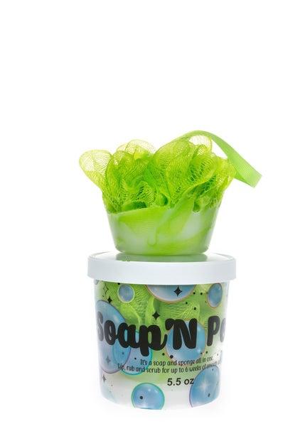 Soap N' Pouf-Margarita