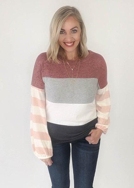 Nancy Multi Pink Sweater