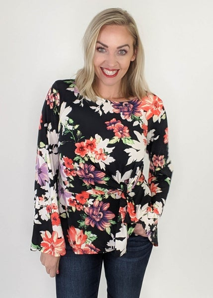 Daily Deal: Not So Typical Floral Top *Final Sale*