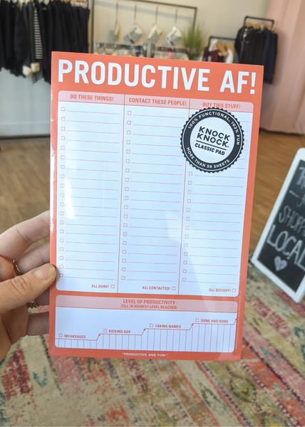 Productive AF-NotePad